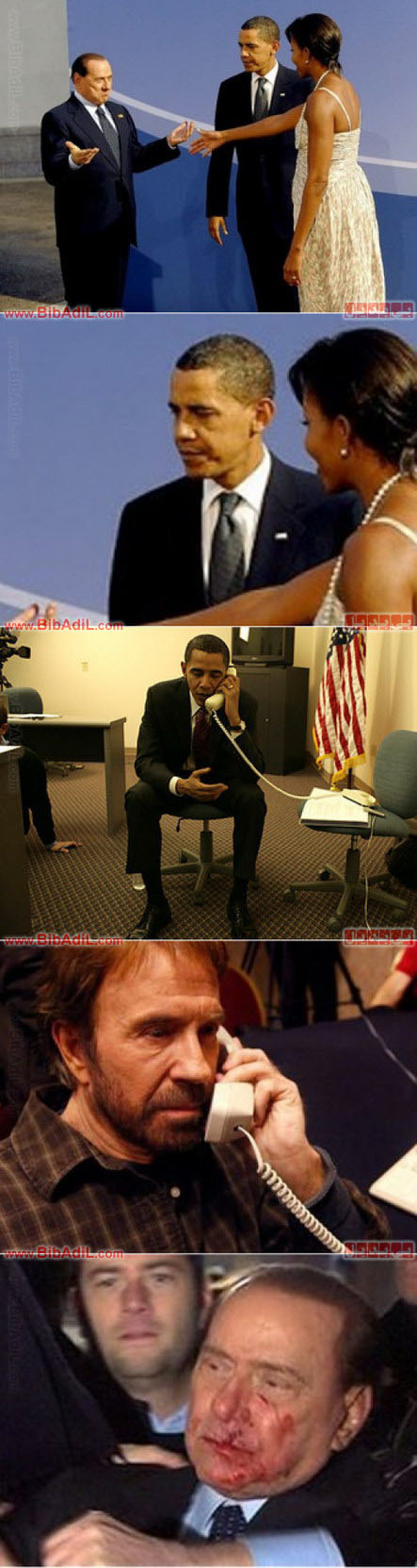 obama_berlusconi.jpg اوباما و برلوسکونی - غیرتی شدن اوباما