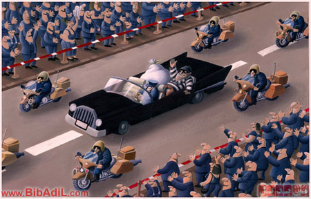 سیاست ؛ کاریکاتور - بی بدیل - Bibadil