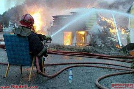 آتشنشان خسته ، Tired Fireman، بی بدیل