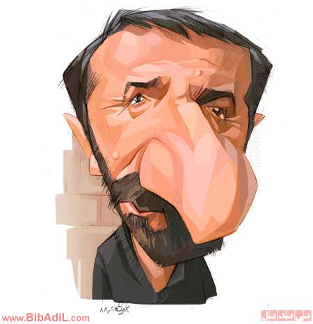 کاریکاتور هنرمند ایرانی - بی بدیل bibadil.com