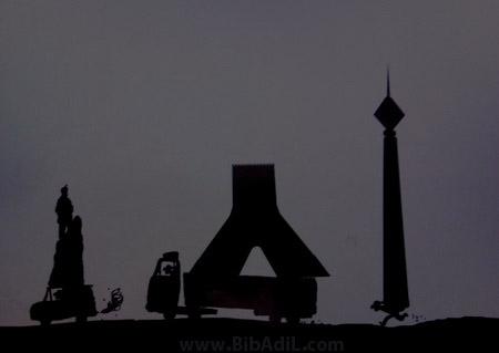 بی بدیل - ادامه روند مجسمه دزدی در تهران