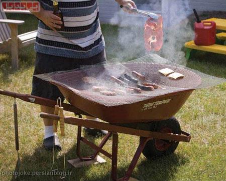 باربیکیوی قابل حمل Cool Boiler