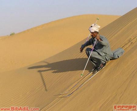 اسکی در صحرا