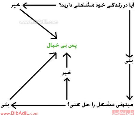 بی بدیل - فلوچارت شیرازی