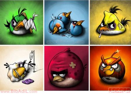بی بدیل - پرنده های عصبانی بعد از بازی